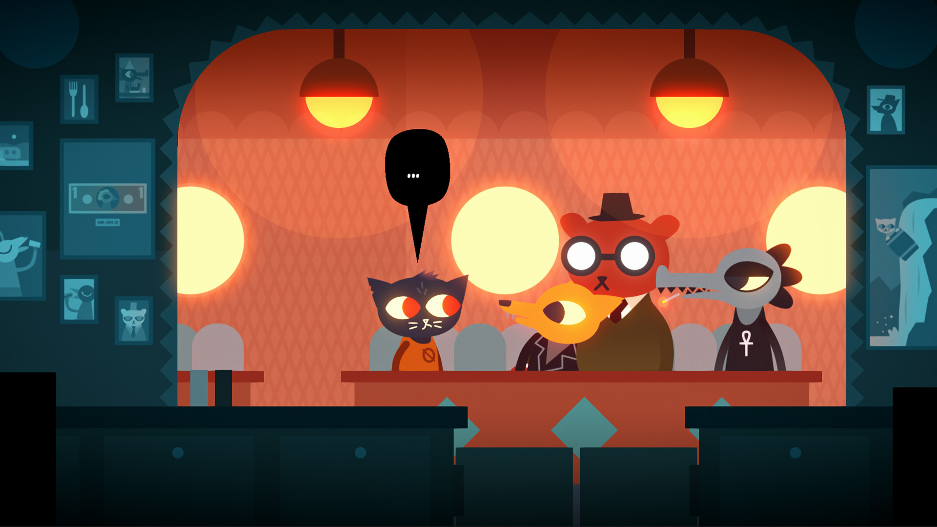 Night in th woods
