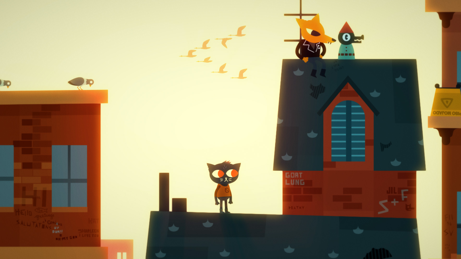February Indie games releases 2018 Night In the Woods Image